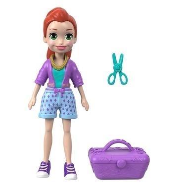 Polly Pocket Polly Pocket Bebek ve Aksesuarı Serisi Renkli